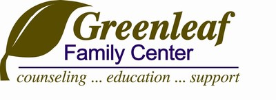 Greenleaf Family Center Logo. Visit greenleafctr.org for more information.