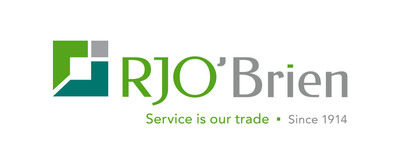 R.J. O'Brien & Associates Centennial logo. (PRNewsFoto/R.J. O'Brien & Associates)