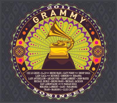 2011 GRAMMY(R) Nominees Album.  (PRNewsFoto/The Recording Academy)
