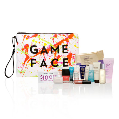 Beauty.com Debuts the MILLY Game Face Bag as Gift with Purchase