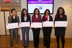 Recipients of Dark and Lovely's Young Women with a Purpose Scholarship in partnership with The Tom Joyner Foundation.
