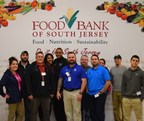 Wounded veterans and their families volunteer at the Food Bank of South Jersey.
