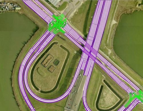 The NDS open lane model for autonomous driving. (PRNewsFoto/NDSA)