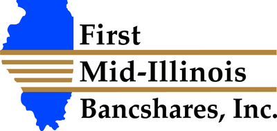 First Mid-Illinois Bancshares, Inc. is the parent company of First Mid-Illinois Bank & Trust, N.A. (First Mid) and First Mid Insurance Group. A community bank with over $1.6 billion in assets headquartered in Mattoon, IL, First Mid offers comprehensive banking, trust and wealth management services, and insurance through 37 banking centers located in 25 Illinois communities. Established in 1865, First Mid's vision is to be the best financial institution in the region, where service is provided at a level above expectation, and to be recognized as such by customers, employees and the communities it serves. www.firstmid.com (PRNewsFoto/First Mid-Illinois Bancshares)