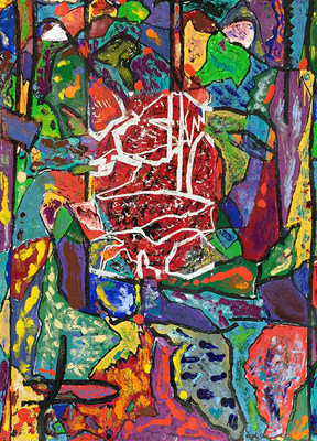 Jonathan Novak Contemporary Art gallery exhibits Jim Dine