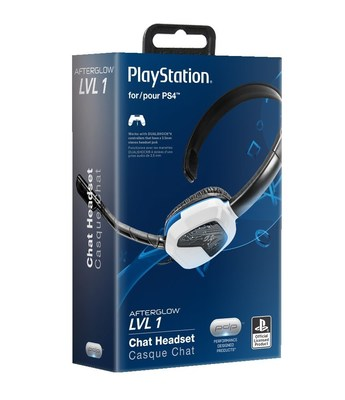 Performance Designed Products launches Afterglow LVL headsets for the PlayStation 4 system.