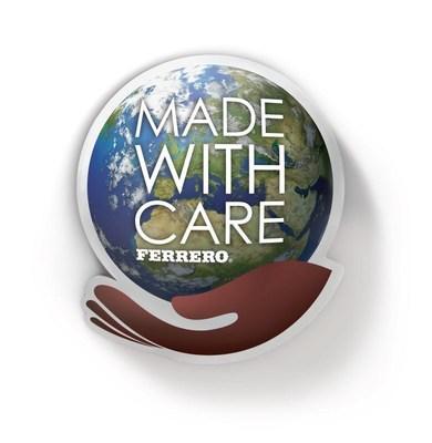 Made With Care Ferrero Logo (PRNewsFoto/The Ferrero Group) (PRNewsFoto/The Ferrero Group)