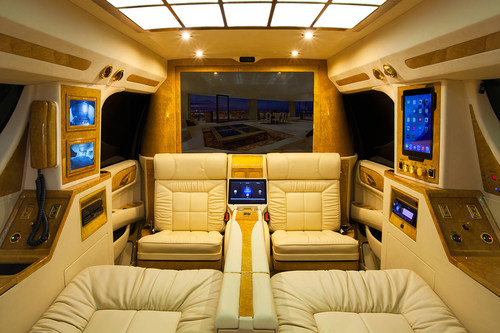 Lexani Motorcars Unveils 2015 Cadillac Escalade ESV Conversion Luxury Coach -- CORONA, Calif ...