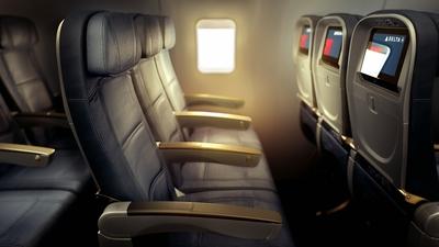 757 Transcon Economy Comfort seat. (PRNewsFoto/Delta Air Lines)