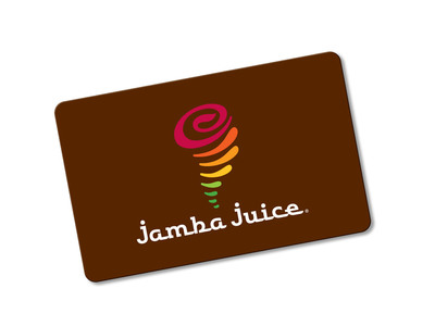 Spread the Apple Cinnamon Cheer with a Jamba Juice gift card this Holiday.  (PRNewsFoto/Jamba Juice Company)