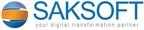 Saksoft Limited Logo (PRNewsFoto/Saksoft Limited)