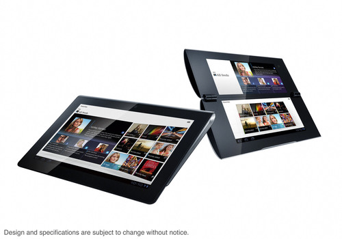 """Sony Tablet""  S1 (Left), S2 (Right).  (PRNewsFoto/Sony Electronics)"