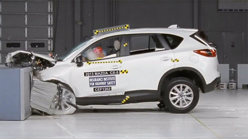 The Mazda 6, Mazda 3, and Mazda CX-5 earned Top Safety Pick+ honors from the IIHS.  (PRNewsFoto/Bill Jacobs Automotive Group)