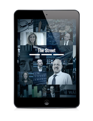 TheStreet's iPad and iPhone app.  (PRNewsFoto/TheStreet, Inc.)