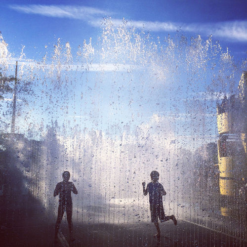 Fountains at Waterloo (PRNewsFoto/American Express)