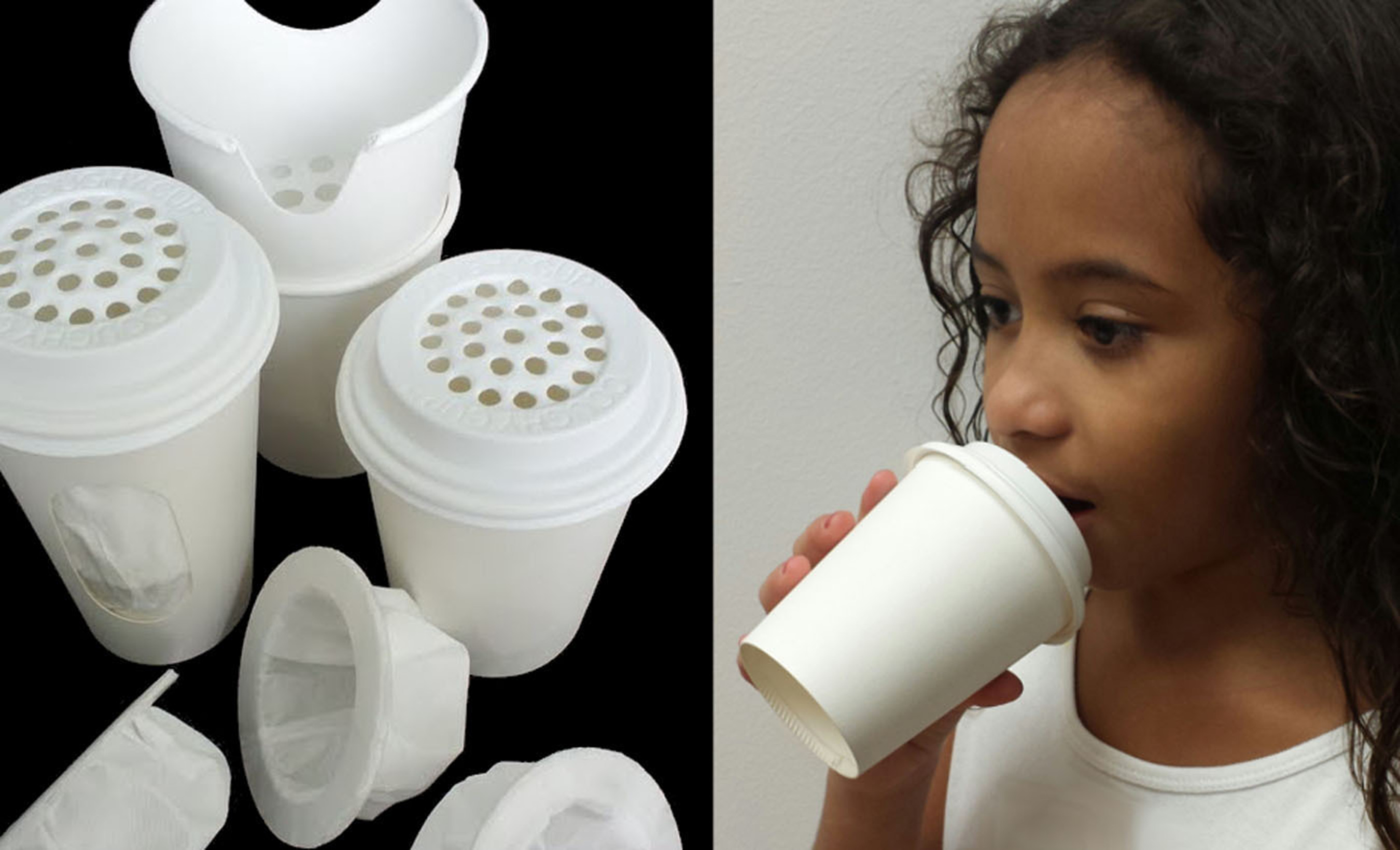 Former TV Weatherman's Germ Killing Coughy Cups Featured in Wal-Mart Contest.  (PRNewsFoto/Coughy Cup, Inc.)