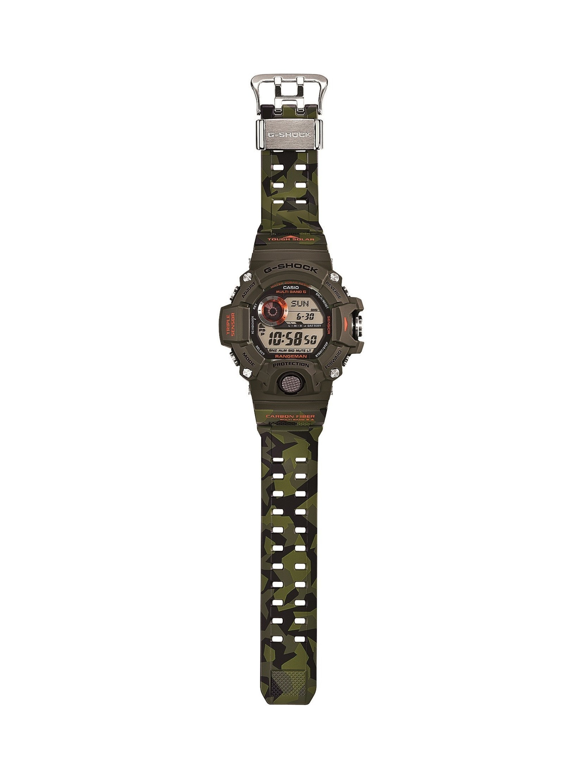 CASIO G-SHOCK EXPANDS MASTER OF G LINE