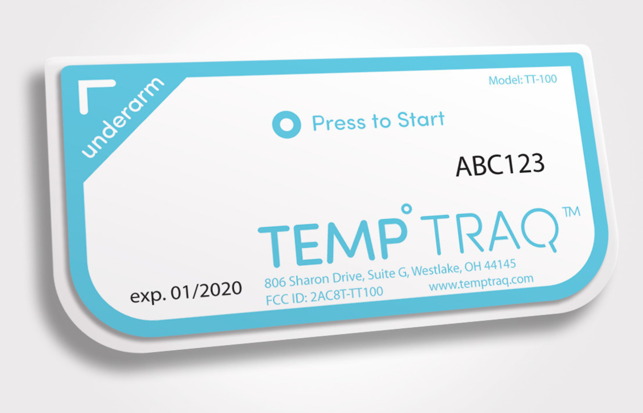 Ideal for today's busy parents, TempTraq provides much needed peace of mind by delivering on-the-spot temperature readings in just seconds.