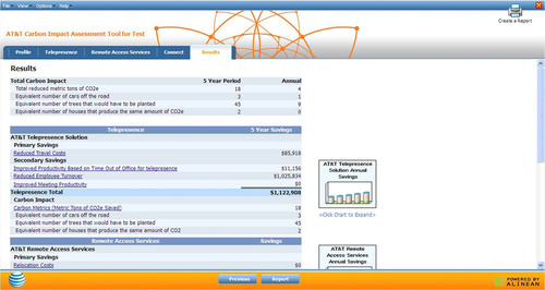 New AT&T Tool Helps Businesses Calculate Greenhouse Gas Emissions and Cost Savings