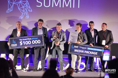 Autenti & Yourpay, Winners of the Great Pitch (PRNewsFoto/Wolves Summit)