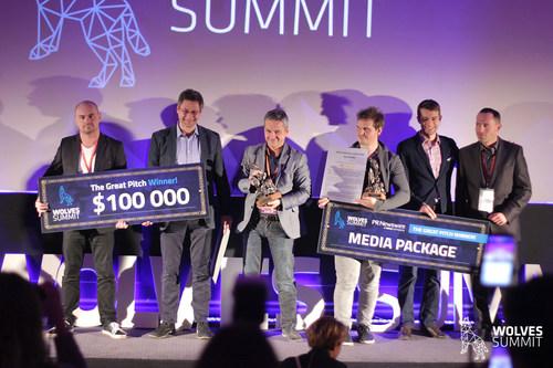 Autenti & Yourpay, Winners of the Great Pitch (PRNewsFoto/Wolves Summit)