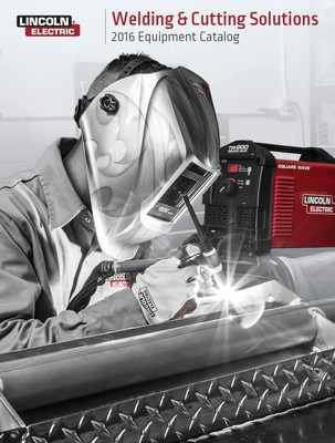 Lincoln Electric has released its Welding & Cutting Solutions 2016 Equipment Catalog in an electronic format. A printed version will be available at Lincoln Electric distributor locations in January.