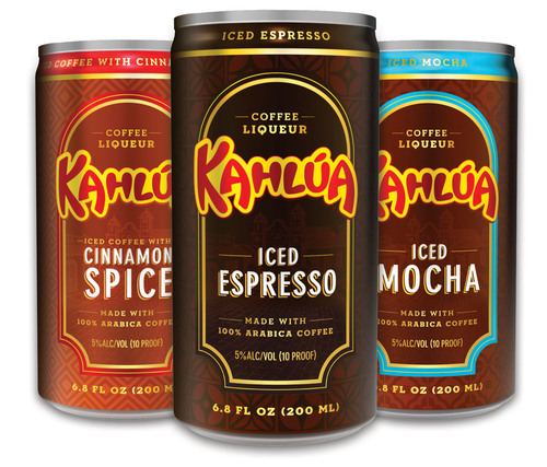 New Kahlua Iced Coffee.  (PRNewsFoto/Pernod Ricard USA)