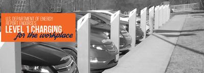 Department of Energy Endorses Level 1 Charging EV