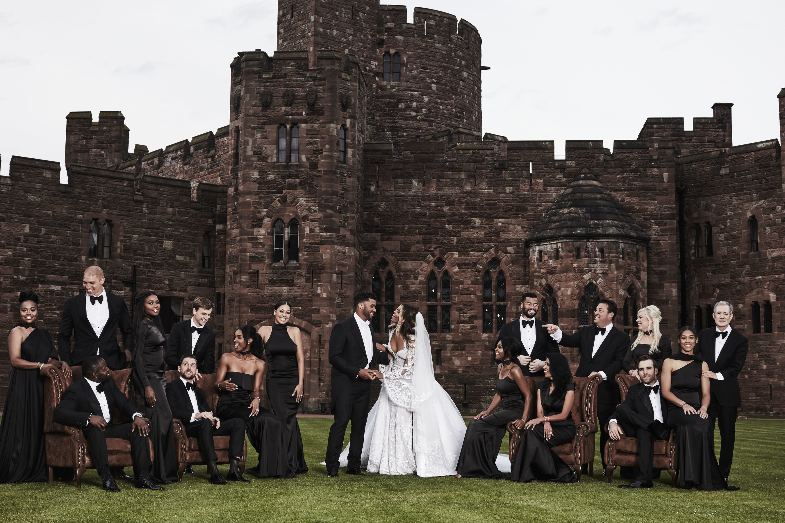 Ciara & Russell Wilson Wedding Party