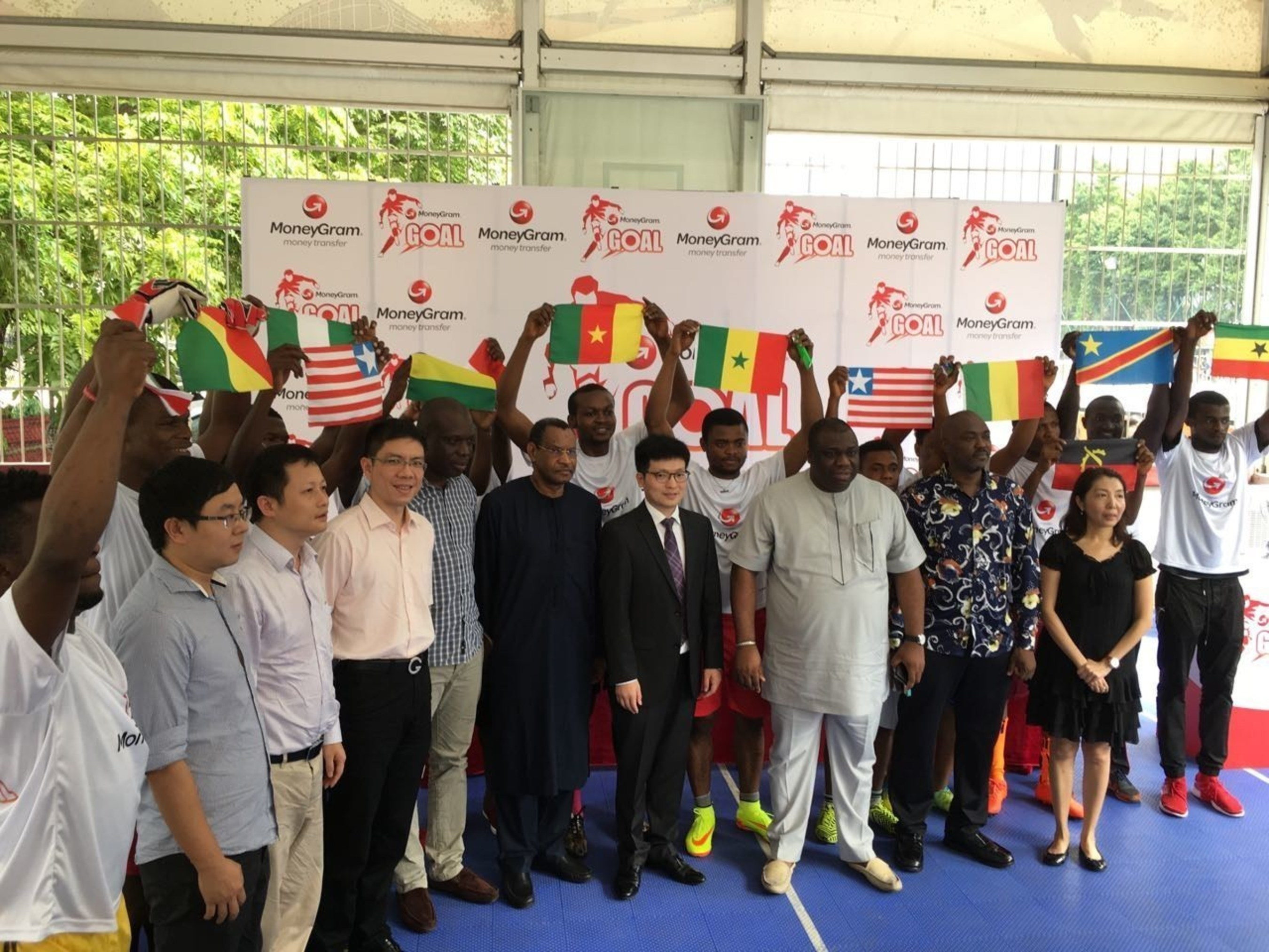 MoneyGram launched G.O.A.L. football tournament in China
