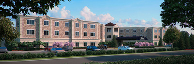 Architect's rendering of The Bristal at Armonk.  (PRNewsFoto/Engel Burman Group)