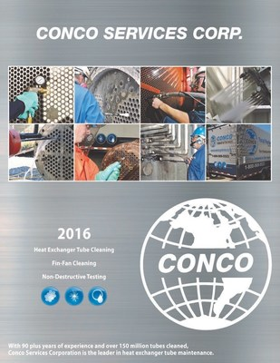 Conco Services Corporation Releases New 2016 Catalog for the Industrial Markets