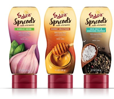 """Sabra Launches Line of Sandwich Spreads, Introducing the """"Next Best Thing For Sliced Bread"""""""