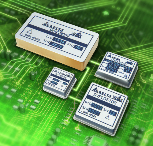 VPT's new 3A point of load DC-DC converter works within VPT's HERO Power System to create efficient, flexible, reliable power for avionics, military, and space applications.  (PRNewsFoto/VPT, Inc.)
