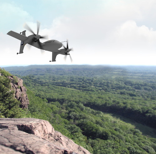 Sikorsky Innovations is teamed with Lockheed Martin's Skunk Works(R) for the VTOL X-Plane development of its Unmanned Rotor Blown Wing concept. (PRNewsFoto/Sikorsky Aircraft Corporation) (PRNewsFoto/SIKORSKY AIRCRAFT CORPORATION)