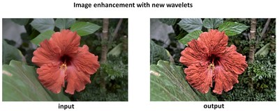 Detail enhancement with new technology. Left image: input photo. Right image: after enhancement.