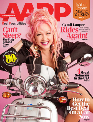AARP The Magazine - Cyndi Lauper Cover