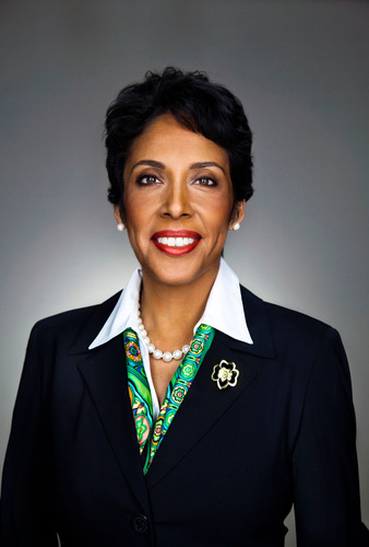 Girl Scouts of the USA CEO Anna Maria Chavez.  (PRNewsFoto/Girl Scouts of the USA)