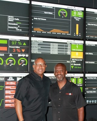 ConnXus COO, Daryl Hammett (left) with Founder and CEO, Rod Robinson (right)