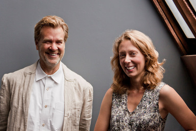 Nicholas Callaway and Ellen Johnston, Co-Founders of Happy