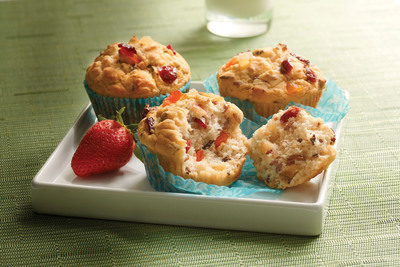 Gluten-Free Fruit & Grain Muffins featuring the all new Minute® Multi-Grain Medley