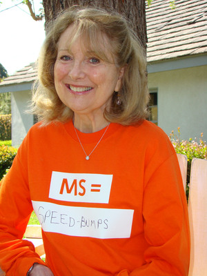 "HOW DO YOU PUT A FACE ON MS - FIND OUT DURING MS AWARENESS WEEK, MARCH 14 - 20, 2011. March 14, 2011, New York, NY -- Actor Teri Garr, who has MS, supports MS Awareness Week March 14-20 -- and the National MS Society's ""MS Equals"" campaign in order to help put a face on an unpredictable disease that affect each person differently.  For more information visit: www.nationalMSsociety.org(PRNewsFoto/National Multiple Sclerosis Society)"