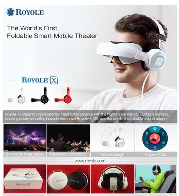 Foldable Smart Mobile Theatre Royole-X