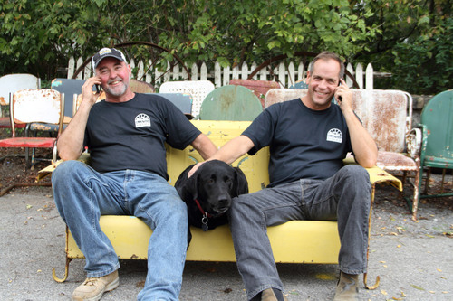 Mike Whiteside and Robert Kulp star in 'Salvage Dawgs' airing Thurs., Jan 10 at 8pm and 8:30pm on HGTV.  ...
