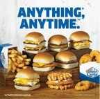 White Castle launches Anything, Anytime, giving Cravers the option to order anything on the menu, anytime White Castle is open.