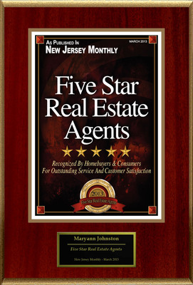 "Maryann Johnston Selected For ""Five Star Real Estate Agents.""  (PRNewsFoto/American Registry)"