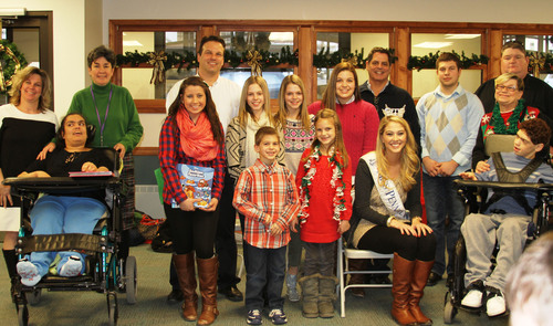 CITGO Marketer Santarelli & Sons, Bess the Book Bus and Miss Pennsylvania 2013 Donate Books to Children at St. ...