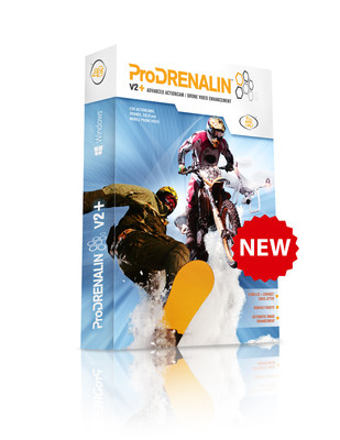 ProDrenalin V2+ Advanced Action Cam & Drone video enhancement software