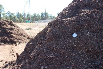 Sodexo and Northern Arizona University Compost up to 150,000 lbs. of Waste from the main resident dining hall and prep kitchen which is ultimately composted, providing valuable soil amendment for campus landscaping.