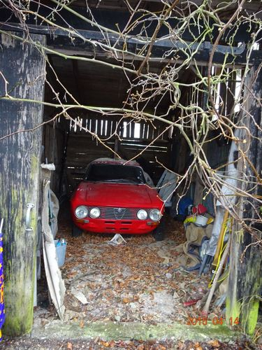 A rare barnfind born out of adventure and mystery at Danish island (PRNewsFoto/Campen Auktioner A/S)